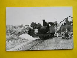 Photo J.Bazin ,gare , Train ,tramway,Meaux Dépot Des Machines - Treni