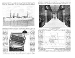 """LES CHAUDIERES MARINES  """" BABCOCK Et WILCOX  """"   1902 - Non Classés"""