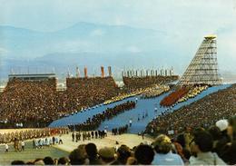 38 - GRENOBLE - STADE OLYMPIQUE - CÉRÉMONIE D'OUVERTURE DES X° JEUX OLYMPIQUES D'HIVER 1968 - Grenoble