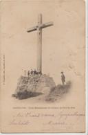 Cpa ( 47 Lot-et-garonne) Aiguillon , Croix Monumentale Du Calvaire Du Pech-de-bère - Autres Communes