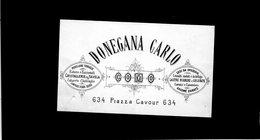CG - Fatt. Ditta Donegana Carlo - Como - 3/9/1883 - Porcellane E Cristallerie Da Tavola - Italia