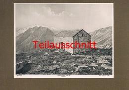 192-2 Olpererhütte Sektion Berlin Zillertal Alpenverein Kunstblatt Lichtdruck 1908 !! - Non Classificati