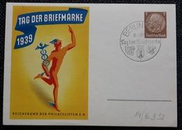 DR 1939, Postkarte P239 Bild 01, Sonderstempel - Allemagne