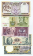 Set 5 Banknotes (see Scan) - XXF/aUNC- - Andere