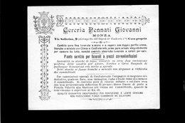 CG - Fatt. Ditta Cereria Pennati Giovanni - Monza - 17/7/1908 - Vendita Di Candele - Italy