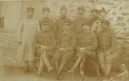 080320A - CARTE PHOTO MILITARIA GUERRE 1914 18 - SERBIE Sous Officiers SHR 30e BTS 1918 - Marine ? - Guerre 1914-18