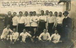 080320A - CARTE PHOTO SPORT - RUGBY équipe Listing Noms Des Joueurs - Rugby
