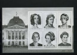 [G1051] België BL89 - Dynastie - Belgische Koninginnen - Reines Belges - Opl: 75ex - Zeldzaam - Rare - Cote: 150,00  SUP - Feuillets Ministériels