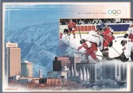 Switzerland 2002 Card: Ice Hockey Sur Glace Eishockey: Olympic Games 2002 Salt Lake City; Swiss Hockey At Olympic Games - Eishockey