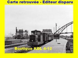 BVA 599-01 - Train - Locotracteur En Gare - CALAIS VILLE - Pas De Calais - VFIL - Calais