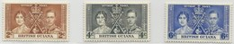 1937 - BRITISH GUIANA - ROYAL WEDDING - SPECIMEN - HINGED - - Altri - America