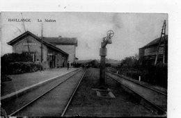 Havelange    La Station     Petit Plis Au Coin Gauche Inférieur - Havelange