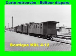 BVA 599-02 - Train En Gare - CALAIS VILLE - Pas De Calais - VFIL - Calais