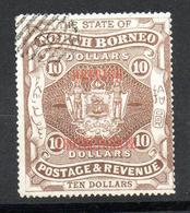 NORTH BORNEO  1901   ( O )  S&G # 145    P14 - Noord Borneo (...-1963)