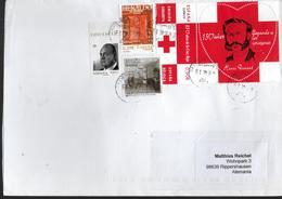 ESPAGNE Lettre 2019 Dunant Croix Rouge - Henry Dunant