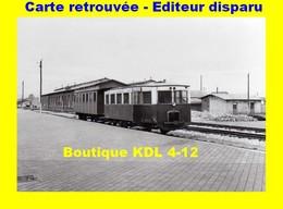 BVA 599-03 - Autorail Berliet ARB 5 En Gare - CALAIS VILLE - Pas De Calais - VFIL - Calais