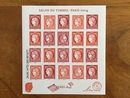 Bloc Salon Du Timbre Paris 2014 CERES 1849 Y&T F4871 - Neufs ** - Neufs