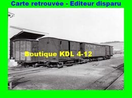 BVA 599-05 - Fourgon Et Voiture En Gare - BONNINGUES - Pas De Calais - VFIL - France