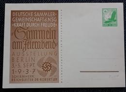 DR 1937, Postkarte P245 Ungebraucht - Allemagne