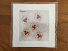 BLOC COEUR DE BACCARAT Poudre De Cristal - Salon De PARIS 2014 Y&T F4883 - Neufs ** - Mint/Hinged