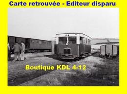 BVA 599-06 - Autorail Berliet ARB 5 En Gare - BONNINGUES - Pas De Calais - VFIL - France