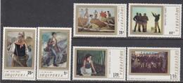 Albania 1971 - Paintings, Mi-Nr. 1513/18, MNH** - Albania