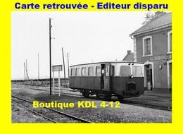 BVA 599-09 - Autorail Berliet En Gare - BONNINGUES - Pas De Calais - VFIL - France