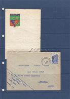 MARIANNE DE GANDON OBL POSTE AUX ARMEES  - INT Papier A En Tete DU BPM 518 - Storia Postale