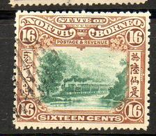 NORTH BORNEO  1902   ( O )   S&G # 107 / 108 / 108d - North Borneo (...-1963)