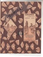 Feuille Emballage Vierge Paquet De CHICOREE Superieure OCEANA  LA ROCHELLE -  Photo Entrée Du Port  ~1920 Timbre Taxe - Reclame
