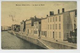 MARANS - Le Quai Au Nord (belle Carte Toilée ) - France