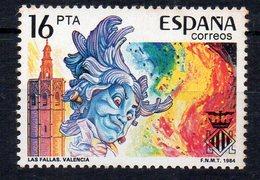 ESPAGNE - SPAIN - 1984 - FETES POPULAIRES A VALENCE - POPULAR CELEBRATIONS IN VALENCIA - - 1931-Aujourd'hui: II. République - ....Juan Carlos I