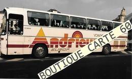 BUS AUTOBUS AUTOCAR - PHOTO 15X 9,5 –    ANDRIEUX  94 IVRY SUR SEINE  (N°143) - Bus & Autocars