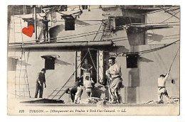 40624-ZE-83-TOULON-Débarquement Des Poudres à Bord D' Un Cuirassé-------------animée - Toulon