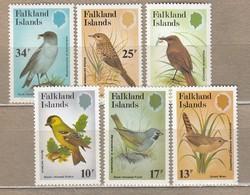BIRDS Vogel Oiseaux Falklands Islands 1982 Mi 357-362 MNH (**) #6170 - Unclassified