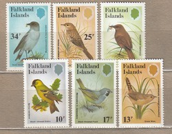 BIRDS Vogel Oiseaux Falklands Islands 1982 Mi 357-362 MNH (**) #6170 - Oiseaux