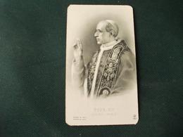 SANTINO HOLY PICTURE IMAIGE SAINTE PIO XII PONTEFICE MASSIMO 1667 - Religion & Esotérisme