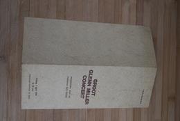Aalst 1978 Programma Glen Miller Concert Big Band - Historische Dokumente