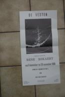Aalst 1986 Affiche Tentoonstelling Rene Bekaert - Historical Documents