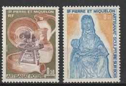 SAINT PIERRE ET MIQUELON 1975 YT N° 443 Et 444 ** - St.Pierre Et Miquelon