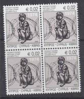 6.- GREEK CYPRUS 2020 B-4 REFUGES STAMP 2020 - Unused Stamps
