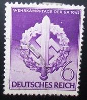 N°947E BRIEFMARKE DEUTSCHES REICH GESTEMPELT - Gebraucht