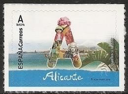 2018-ED. 5189 - 12 Meses, 12 Sellos. Alicante -NUEVO - - 2011-... Ungebraucht