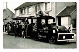 """Association Des Familles Des Cordeliers - Pontoise """" Nuit & Fête Les 15 & 16 Juin 1963 """" P'tit Train Sur Pneus, Enfants - Pontoise"""