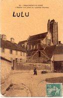 DEPT 95 : Beaumont Sur Oise L église Vue Prise Du Quartier Perrine ; édit. ? Bords De L'Oise N° 78 - Beaumont Sur Oise