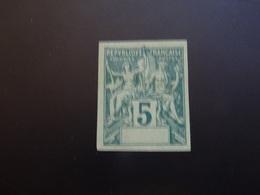 COLONIES Variété Sans Legende  Types Groupe SAGE  ND 1892 SG- Non Garantis - Francobolli