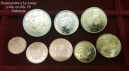 España Spain 2020 Set 1 2 5 10 20 50 Céntimos 1 2 Euros SC UNC - España