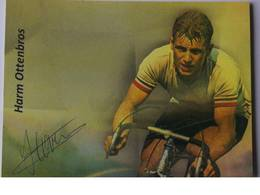Harm OTTENBROS - Signé / Hand Signed / Dédicace Authentique / Autographe - Cyclisme