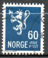 NORVEGE  60o Bleu Vert 1941 N° 235 - Norvège