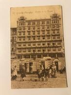 Carte Postale Ancienne (1914)   BLANKENBERGHE Centre De La Digue - Blankenberge